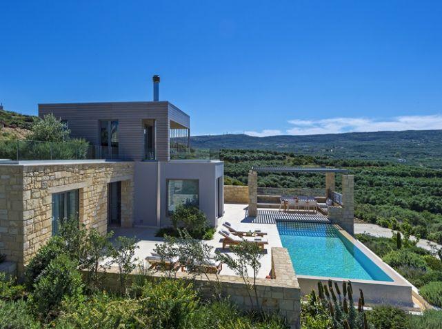 Les plus belles villas pour partir - Elle Décoration Architecture - Gites De France Avec Piscine Interieure
