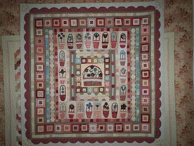 Pocket Of Posies Quilt Pattern.Supergoof Quilts Pockets Of Posies Anni Downs