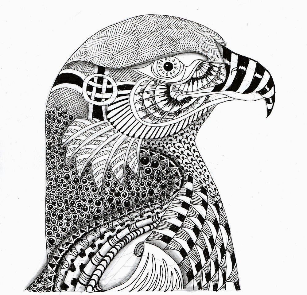 Efie Goes Zentangle Ben Kwok Koala En Eagle Dieren Tekenen Abstracte Tekeningen Kleurplaten