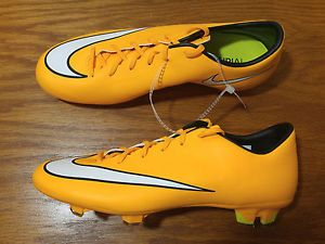 new style fd9f3 798d6 ... closeout new nike mercurial victory v fg soccer cleats mens 9 shoes  orange yellow 651632 b1176