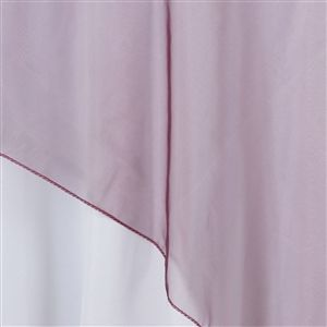 108 Overlay Organza Burgundy With Images Colorful Table