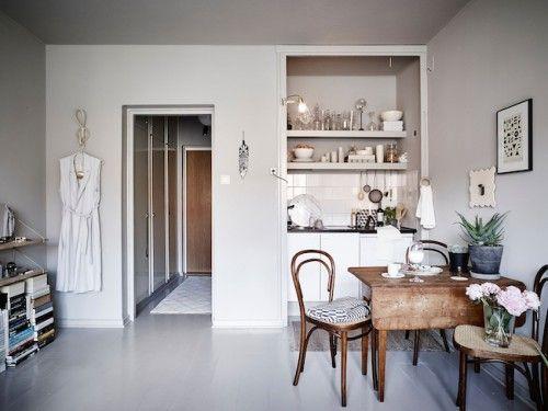 Kleine open keuken home pinterest