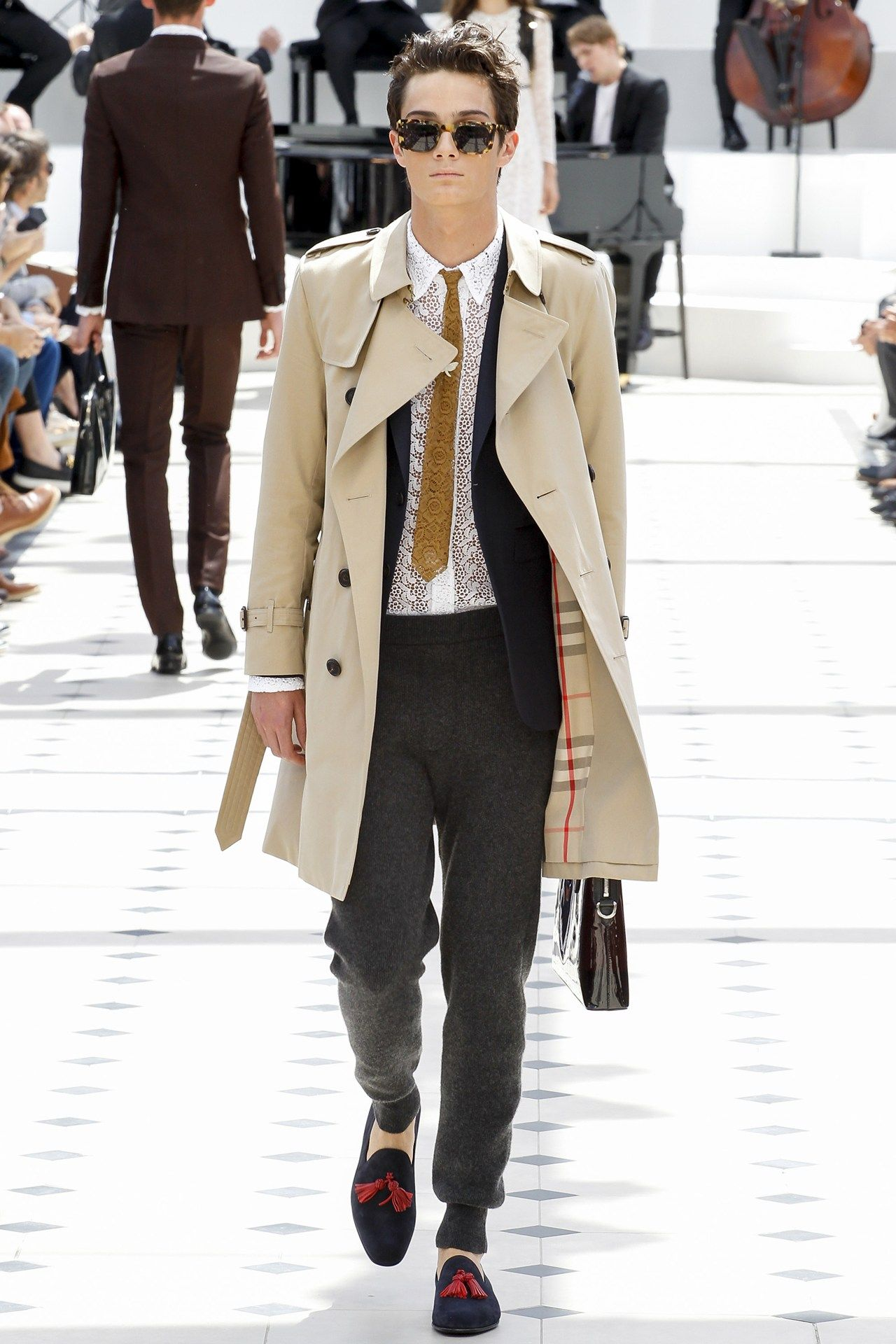 Burberry Men Spring   Moda, Fashion, Mode   Pinterest   Menswear ... 84e359aa315f