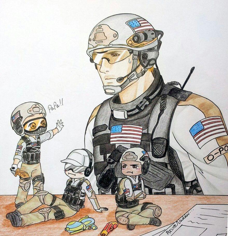 Team Delta Call Of Duty Warfare Modern Warfare American Ninja Warrior