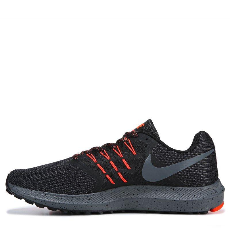 cc9842eef06 Nike Men s Run Swift Running Shoes (Black Orange)