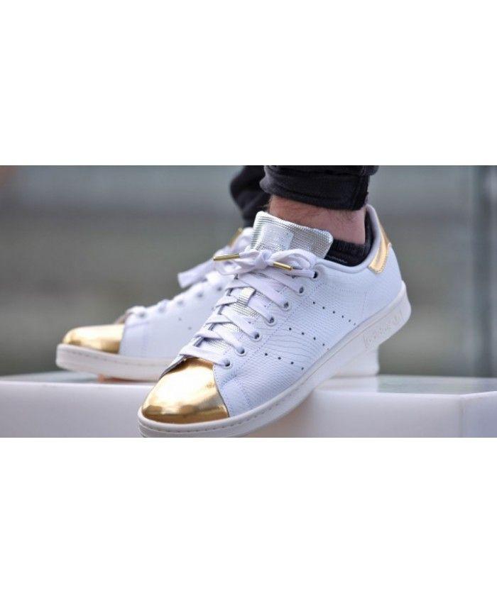 adidas stan smith mens i formatori in oro bianco adidas stan smith
