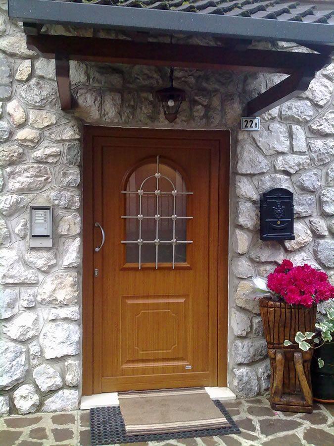 Portoncini ingresso legno e vetro rn96 regardsdefemmes - Idee decoro casa ...