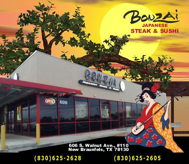 Restaurant Bonzai New Braunfels Steak and Sushi New
