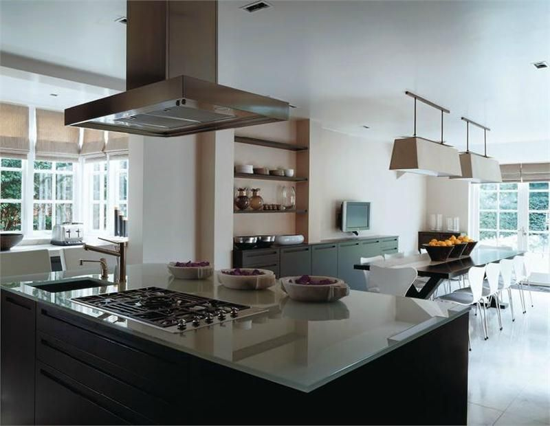 """Kelly Hoppen """"Old Meets New"""" Kitchen and Dining  (Pinned by www.daniellelakedesign.com)"""