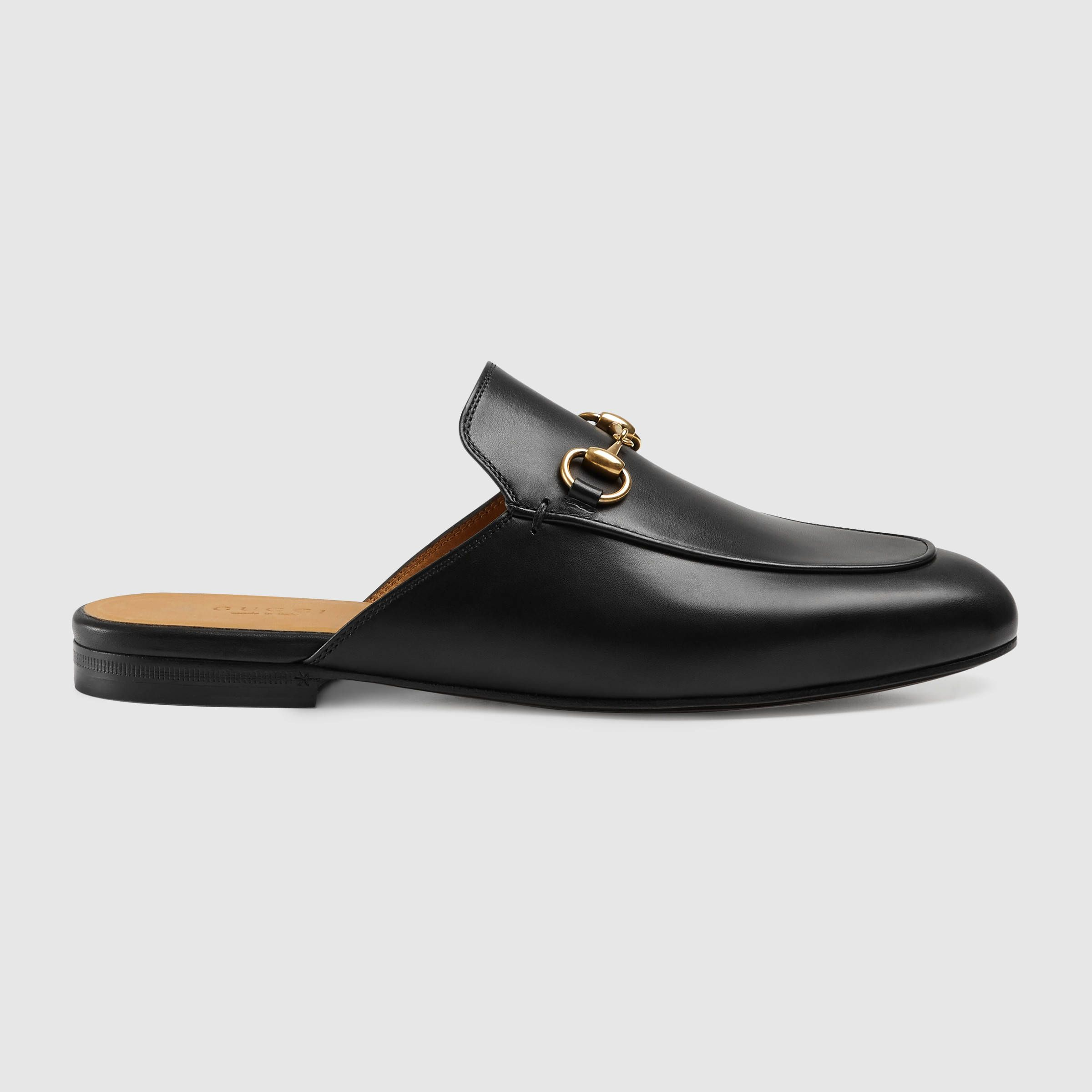 d8d78db81 Princetown leather slipper | Shopping List | Leather slippers, Gucci ...