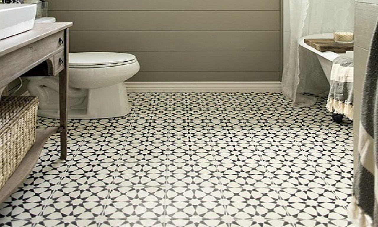 Vintage Bathroom Tile Floor Patterns Bathroom Designs