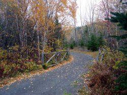 Parc national du Bic - Pédestres et cyclables