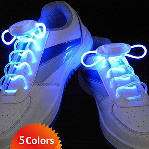 Flammi LED Shoelaces Light Up Shoe Laces with 3 Modes in 5 Colors Flash Lighting the Night for Party Hip-hop Dancing Cycling Hiking Skating -(Blue) Flammi. #ffsb #holidayfitlist  http://www.amazon.com/dp/B00MVG3KEO/ref=cm_sw_r_pi_dp_BbEKub0EXEJT2