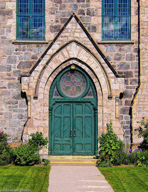 Galt United Door by PRS Images, via Flickr. In Cambridge, Ontario.