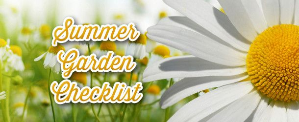 Get your garden ready for summer in New Jersey with our quick gardener's check list courtesy of the green thumbs from Plymouth Rock Assurance.