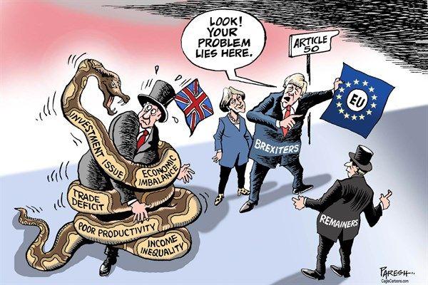 Post Brexit Economy Paresh Nath The Khaleej Times Uae British