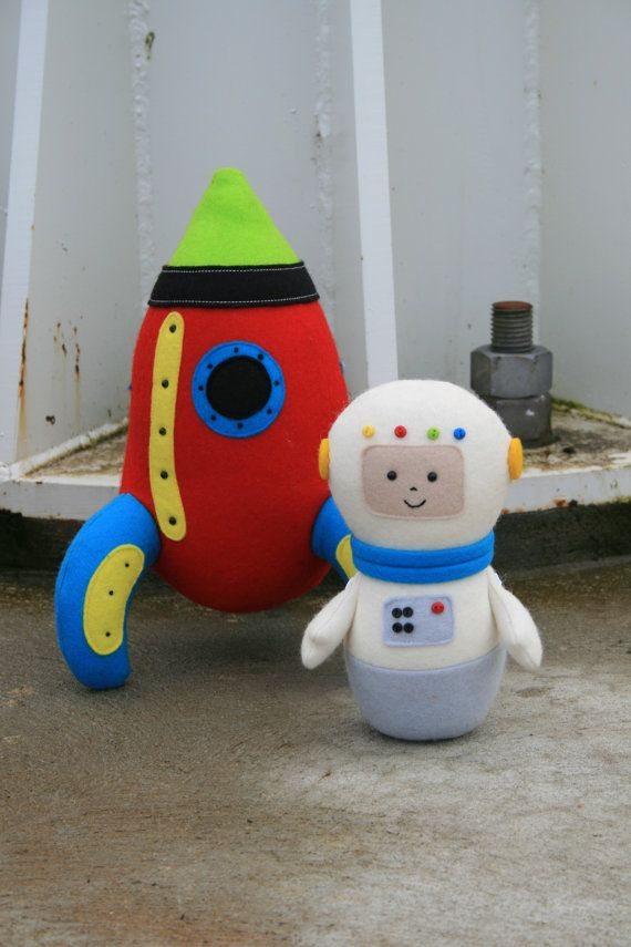Starman: rocket sewing PDF, astronaut, felt rocket pdf, rocket ...