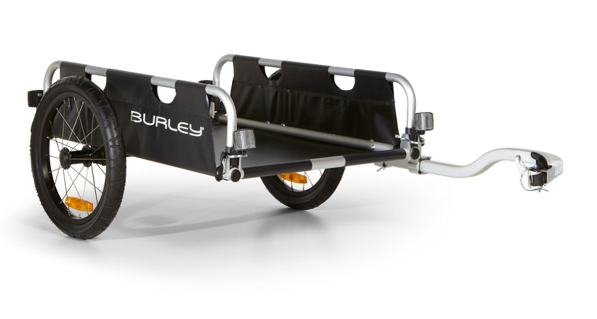 Burley Flatbed - With versatility like a pickup truck, but none of the gas, Burley's Flatbed trailer will change the way you approach errands. $228.99
