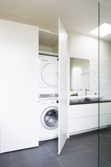 waschmaschinenschrank   renovierung   pinterest, Hause ideen