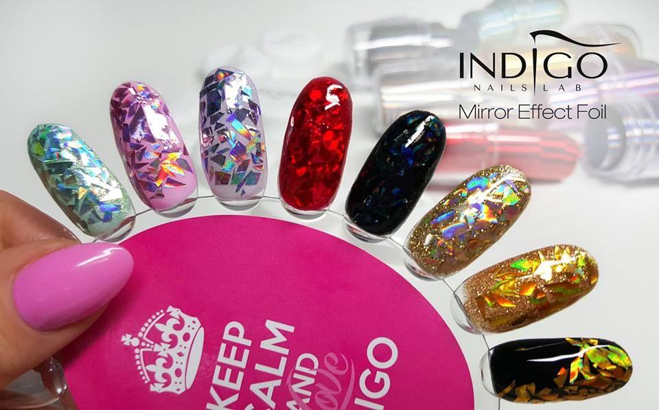 Indigo Nails Lab Mirror Effect;) | Nail art wheels & samples ...
