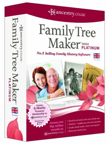 informatica avanquest family tree maker 2012 platinum edition