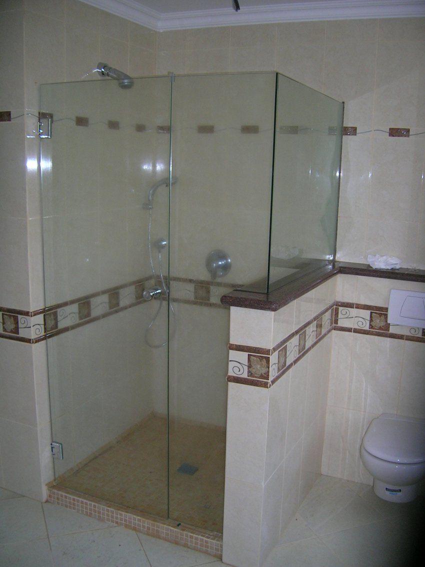 pin-dusche-bauen-mauer-oder-glas-on-pinterest  Bathtub, Alcove