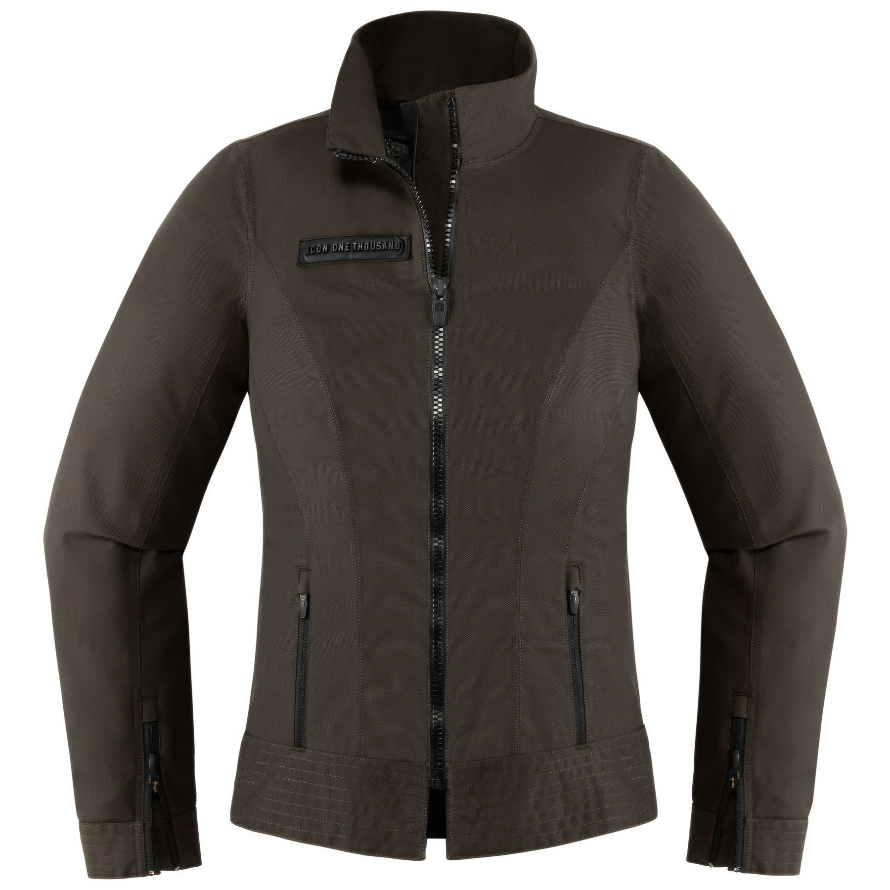 Icon 1000 Fairlady Women's Jacket - RevZilla -  Fashions intersects with diehard rider. The Icon Fairlady emerges. Waterproof YKK zippers coupled w - #BicycleDesign #CyclingArt #CyclingGear #ExtremeSports #fairlady #Icon #jacket #revzilla #RideABike #Snowboarding #women #Womens
