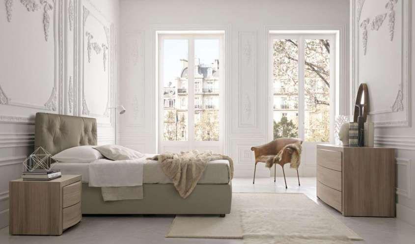 Idee camera da letto color tortora - Camera da letto luminosa ...