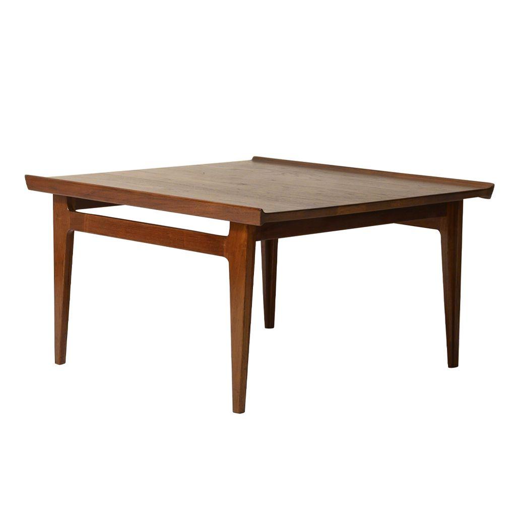Teak Coffee Table By Finn Juhl For France Son 1957 Wood Sofa Table Sofa Table Design Teak Coffee Table [ 1024 x 1024 Pixel ]