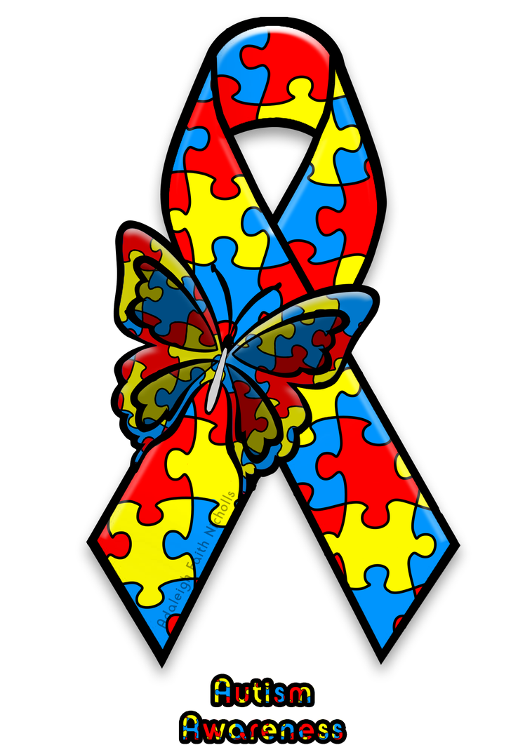 Autism Awareness Ribbon By Adaleighfaith On Deviantart Autism Ribbon Autism Tattoos Autism Art