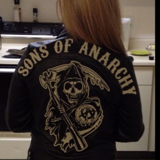 Pin By Lindsay Kristine On Define My Life Varsity Jacket Jackets Sons Of Anarchy