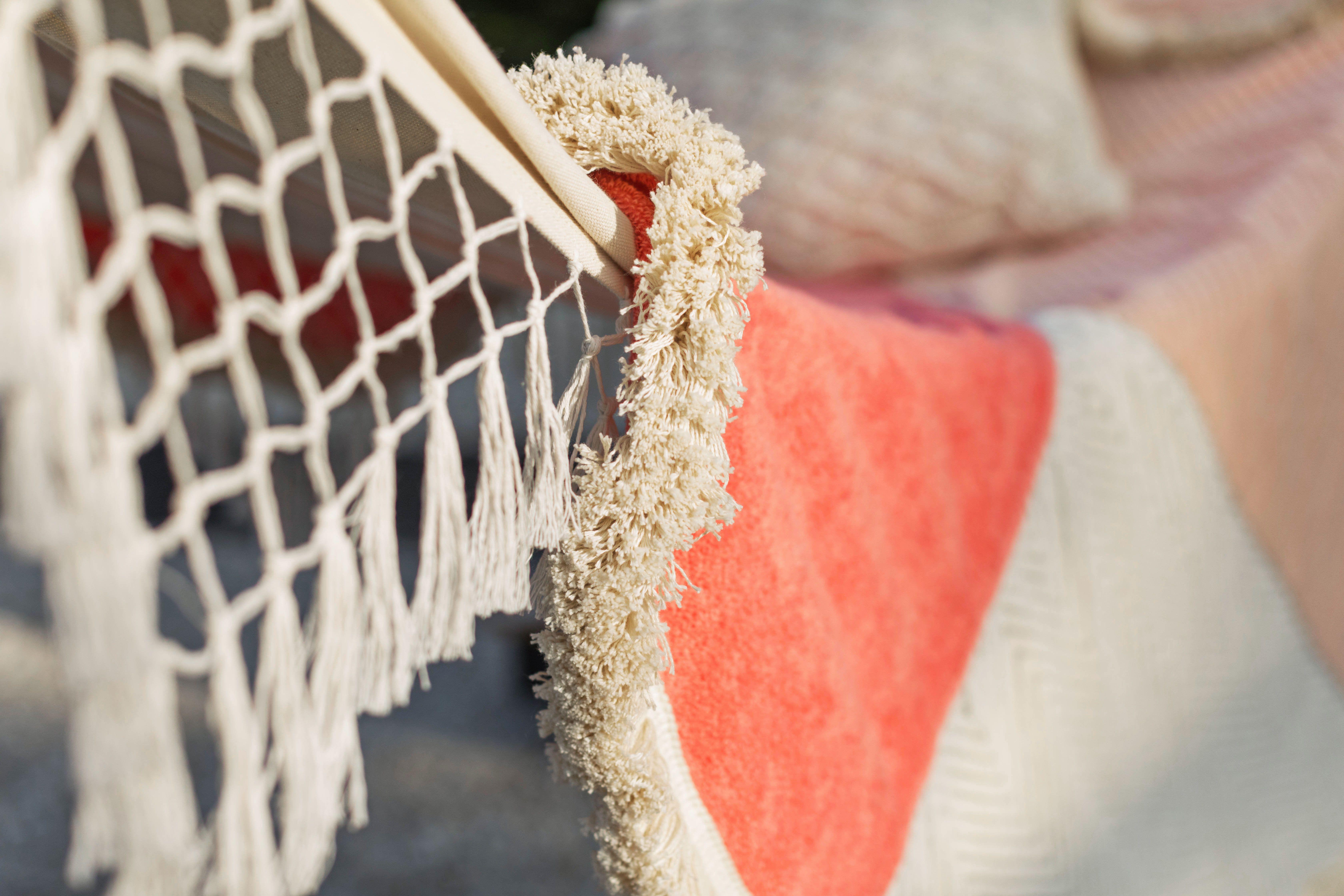 Round Beach Towel DIY – A Beautiful Mess