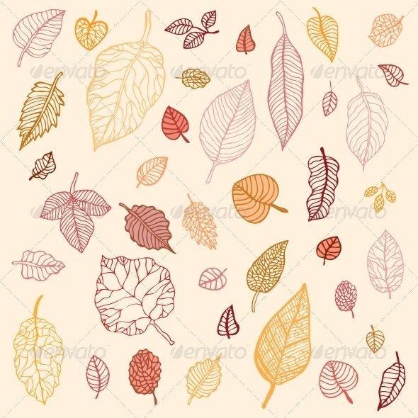 Autumn Leaves Set #autumnleavesfalling