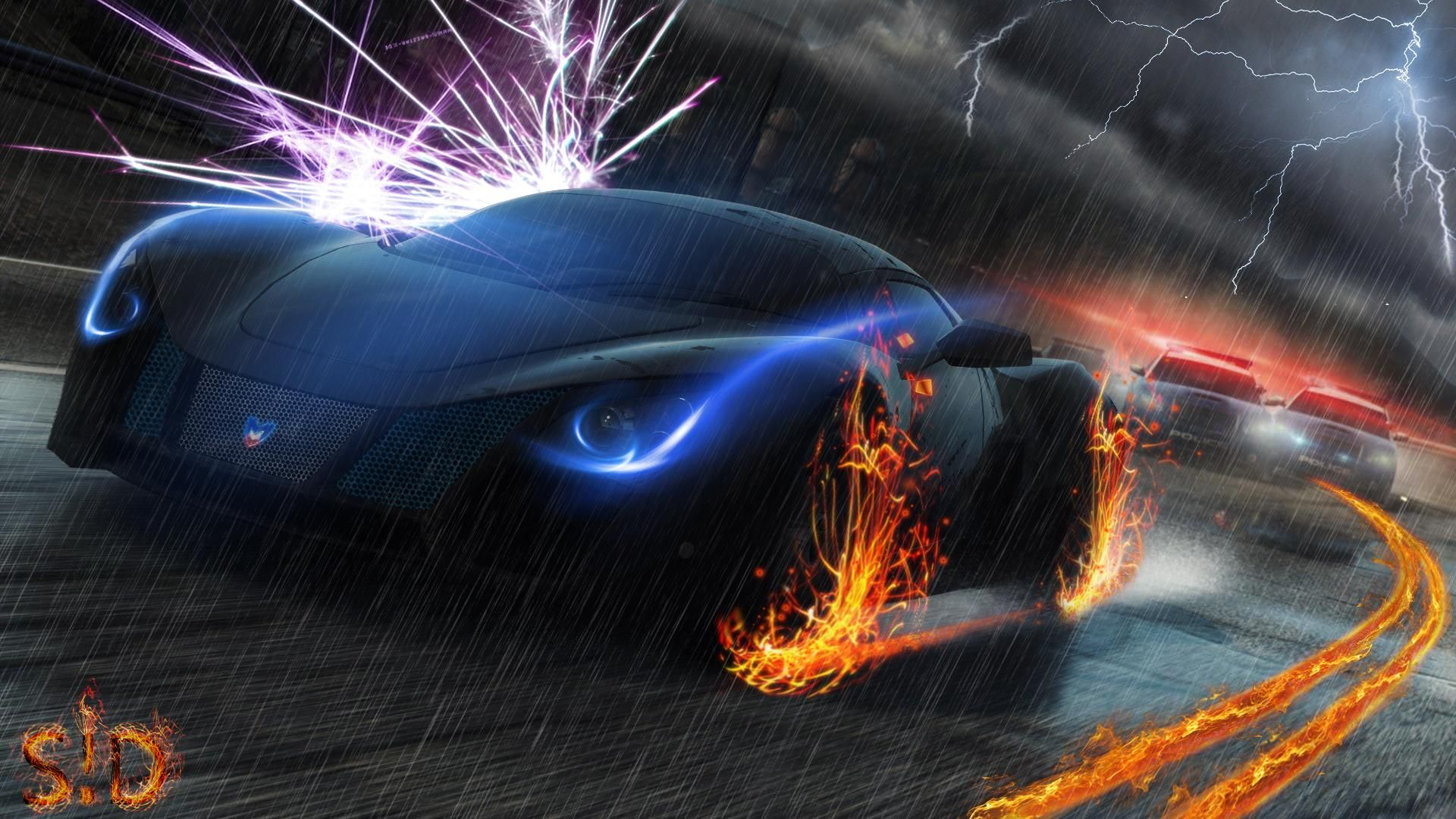 Need For Speed Most Wanted Nfs Iphone Wallpaper Vintage