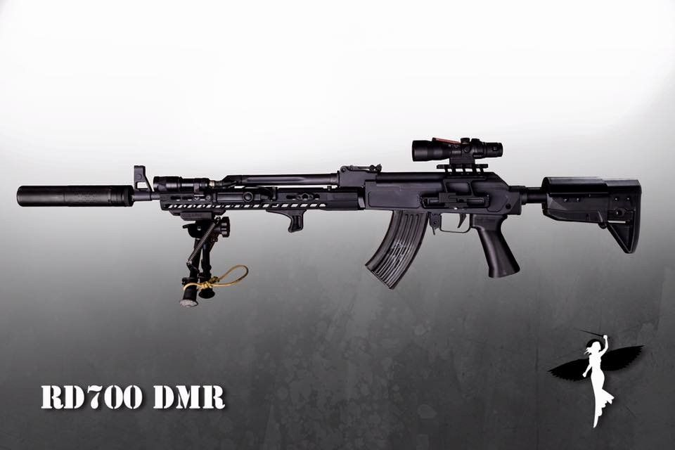 Sharps Bros  MB47 Receiver | Rifle Dynamics | Armour Costume