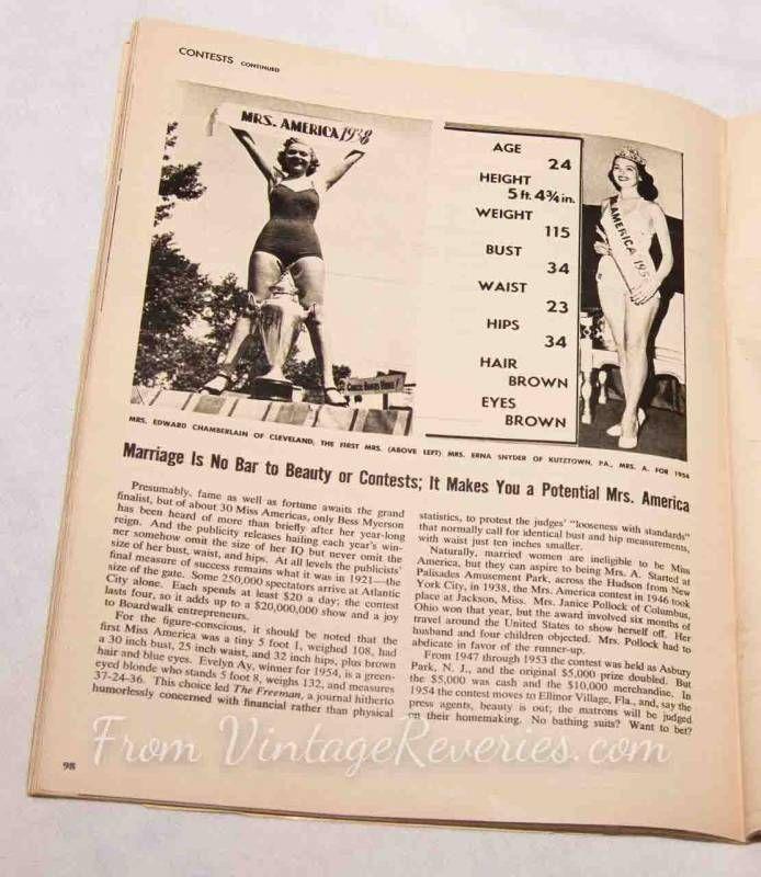 Pin On Cheesecake Pinup Magazine 1953
