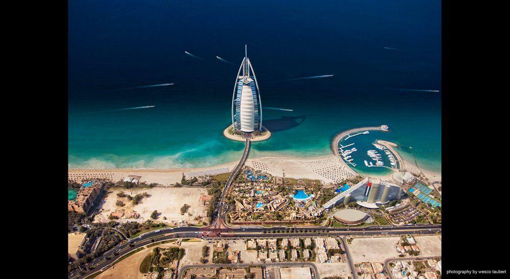 Dubai — Burj Al Arab, Jumeirah Beach ♥ REPIN, LIKE, COMMENT & SHARE