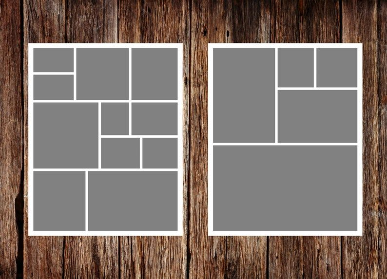 Template Pack No 6 Instant Download Storyboard Template Etsy Photo Collage Template Storyboard Template Collage Template