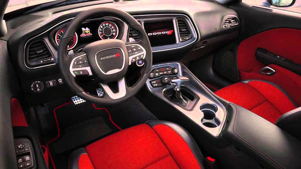 2016 Dodge Challenger Interior | Hebert's Town and Country ...