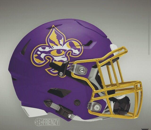2f105a85d Future LSU football helmet College Football Helmets
