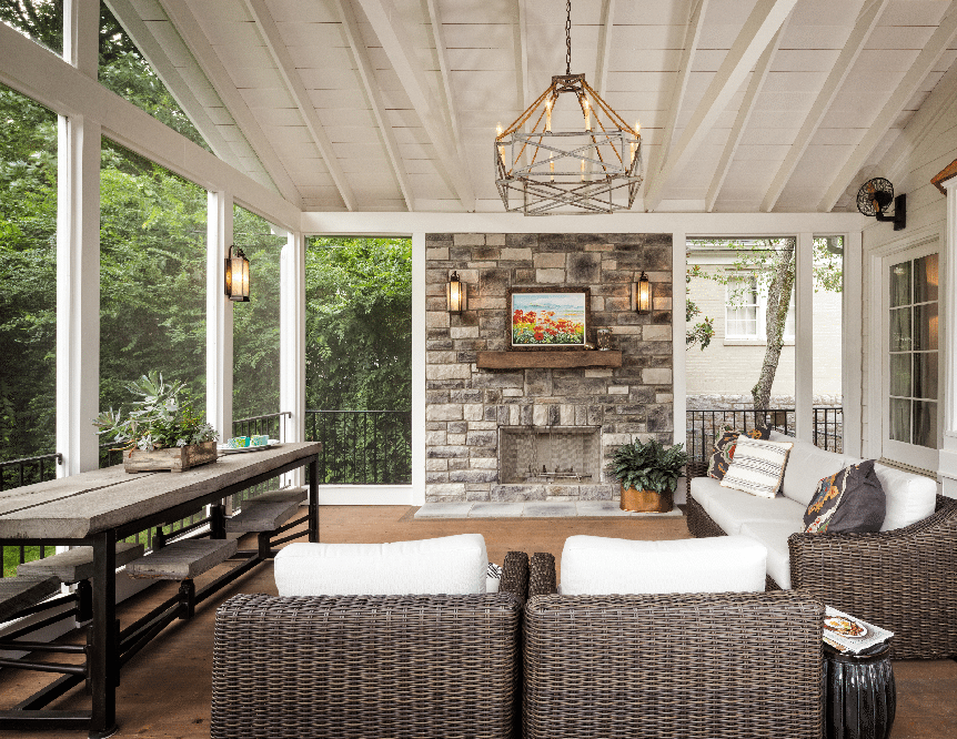 Nice Screen Porch Screen Room Design Ideas Maryland