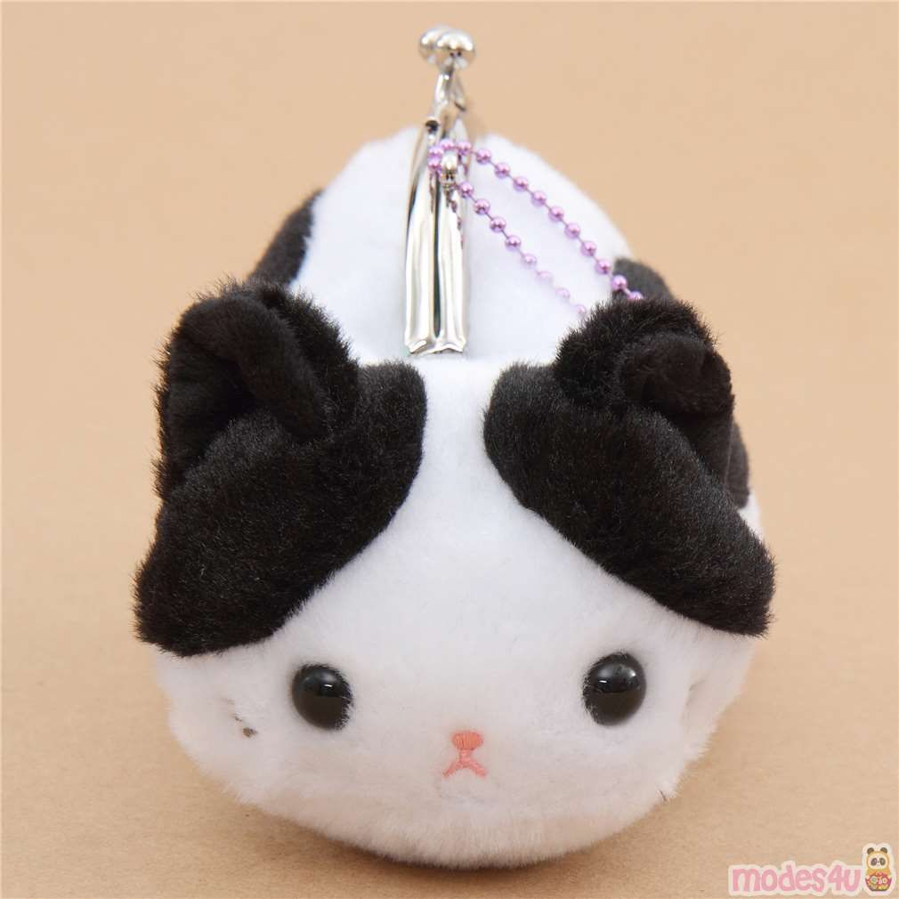 Cute Cat Animal Plush Coin Case Purse Pouch By Amuse Cute Cat Animal Plush Coin Case Purse Pouch By Amuse Tsuchi Black Cat Plush White And Black Cat Cat Plush [ 1010 x 1010 Pixel ]