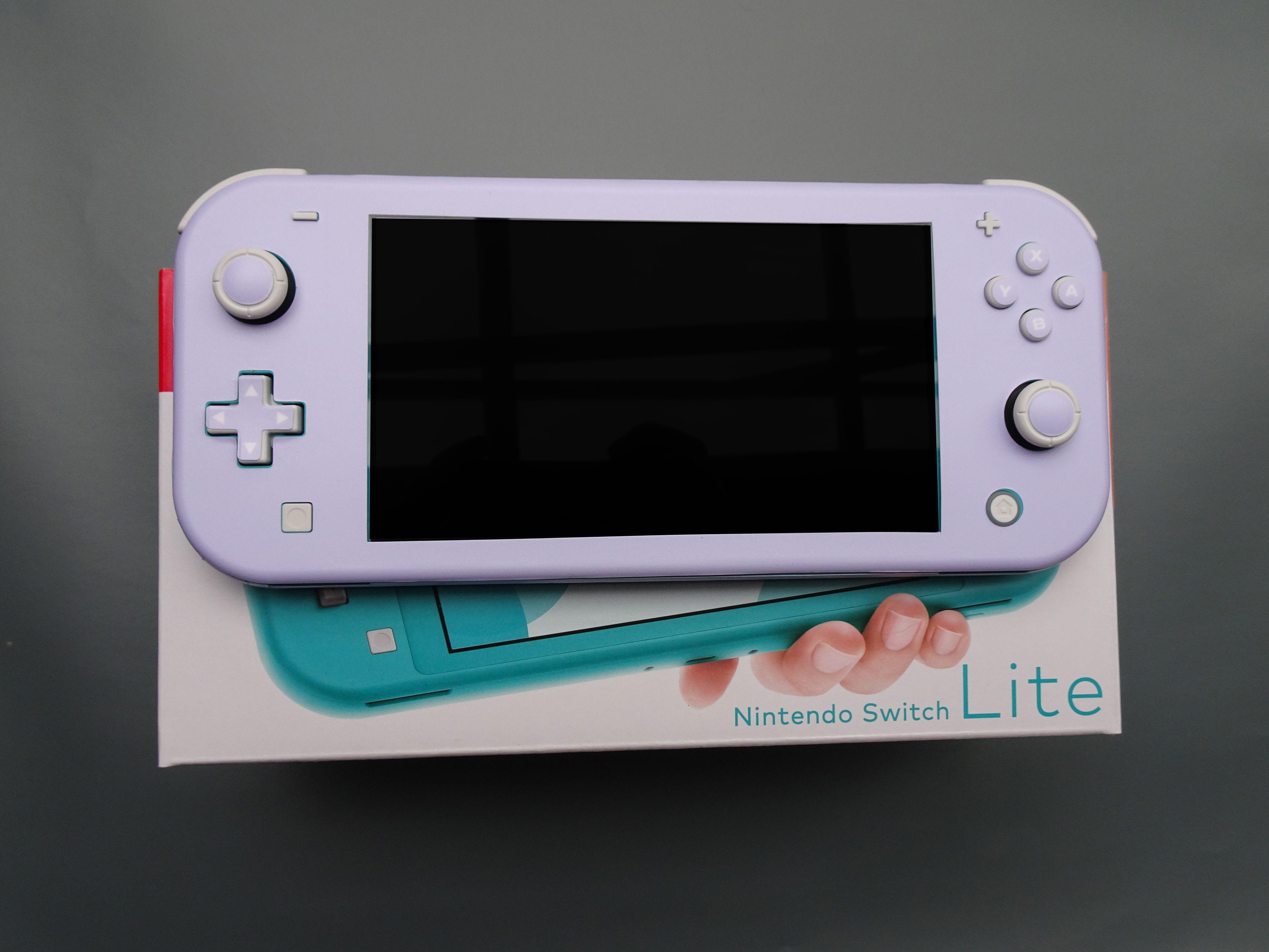Lavender Blue Switch Lite Skin Nintendo Switch Accessories