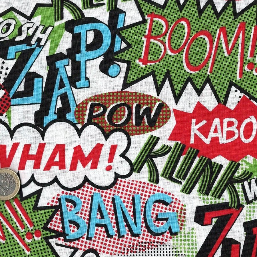 Assez tissu pop art bulles de bd comics | Onomatopoeia | Pinterest  PV96
