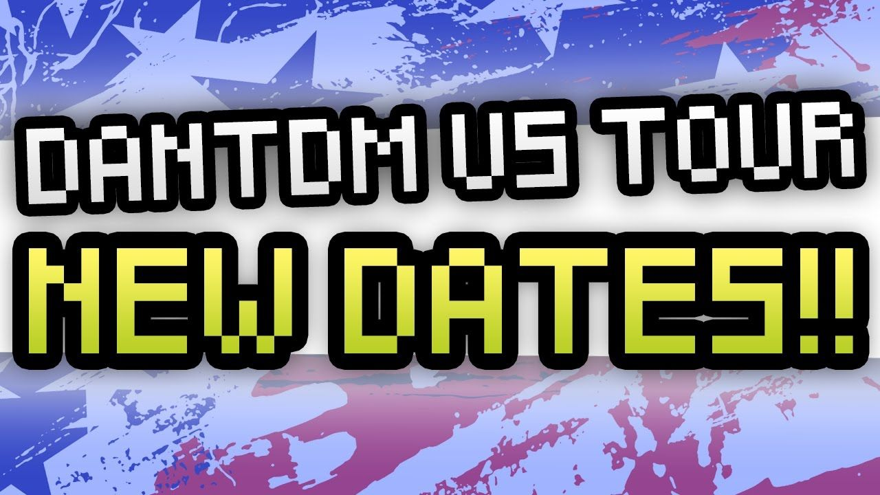 NEW DANTDM US TOUR DATES!!! Don't miss him in Clearwater on