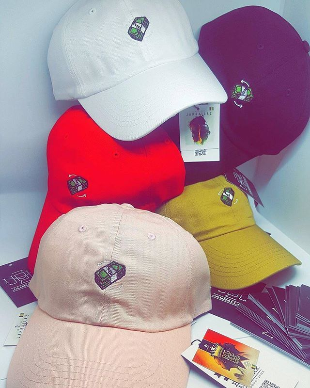 960966e304c 5 Colorway Custom Dad Hat lineup for Jamballaz ( jamballaz) - - branding  includes front flat embroidery