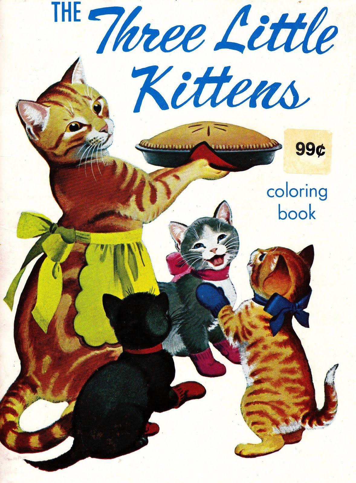 The Three Little Kittens Cat Art Little Kittens Cats Kittens