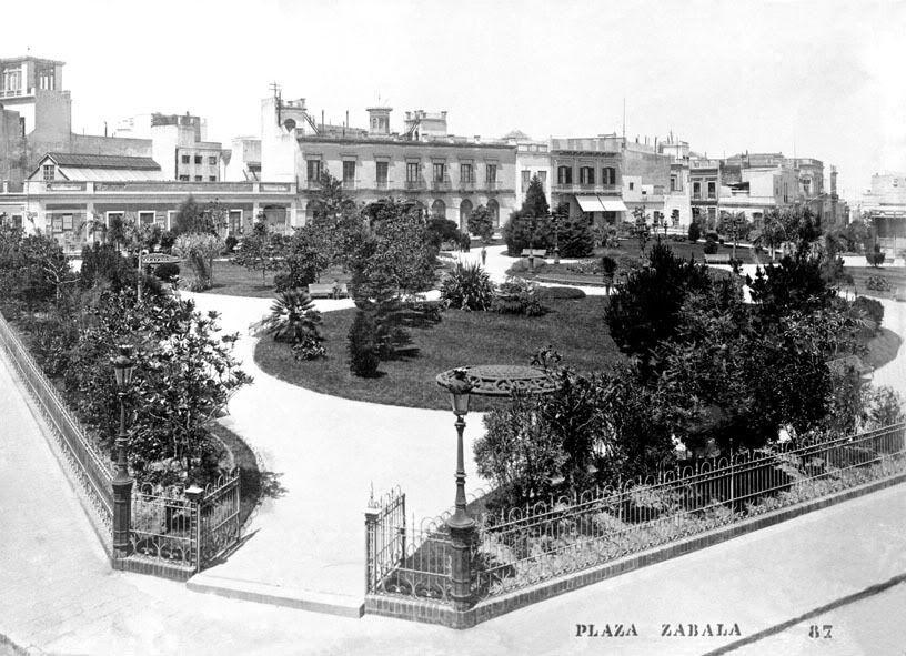 Montevideo Antiguo Plaza Zabala Montevideo Uruguay Republica