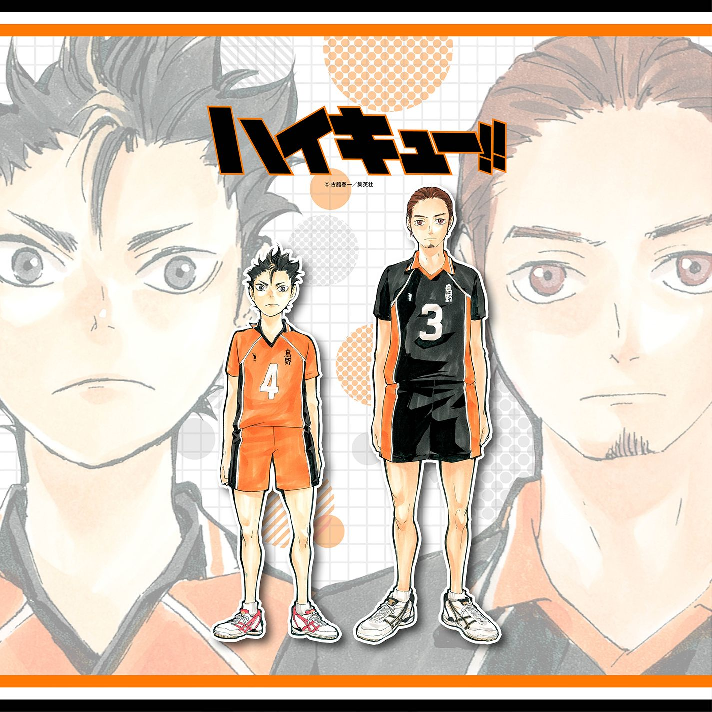 Asahi And Nishinoya ハイキュー壁紙 ハイキュー 少年ジャンプ