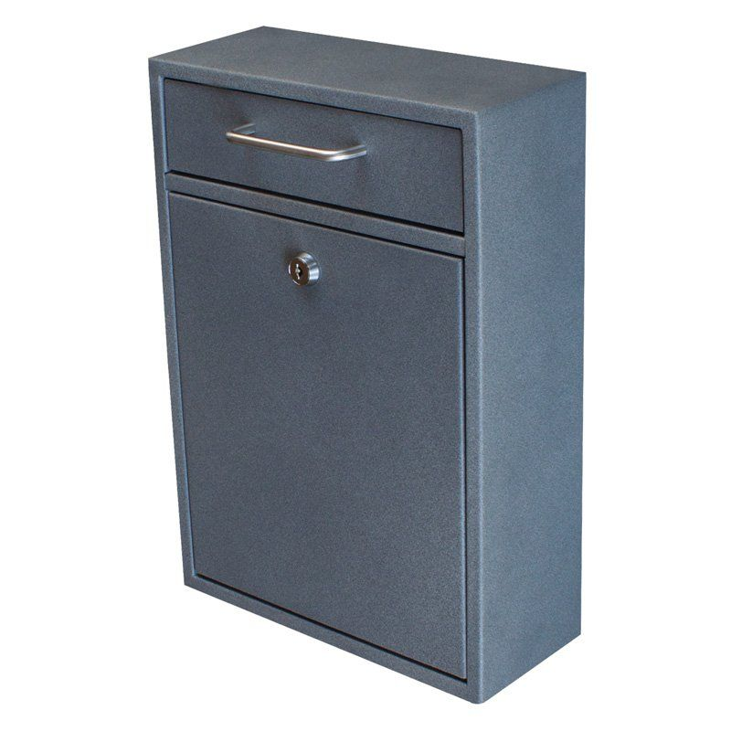 Mail Boss Locking Security Drop Box - 7415